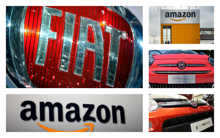 Fiat Amazon: partnership per risparmiare