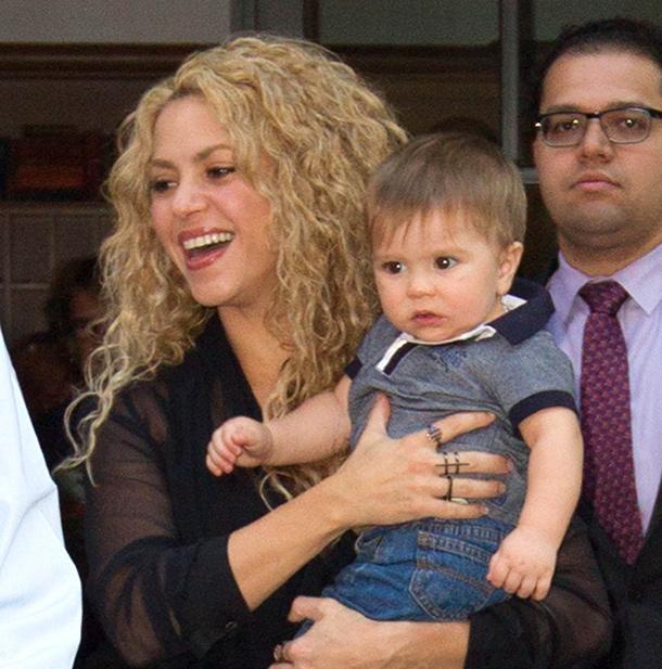 Shakira: il figlio è malato, saltano impegni professionali