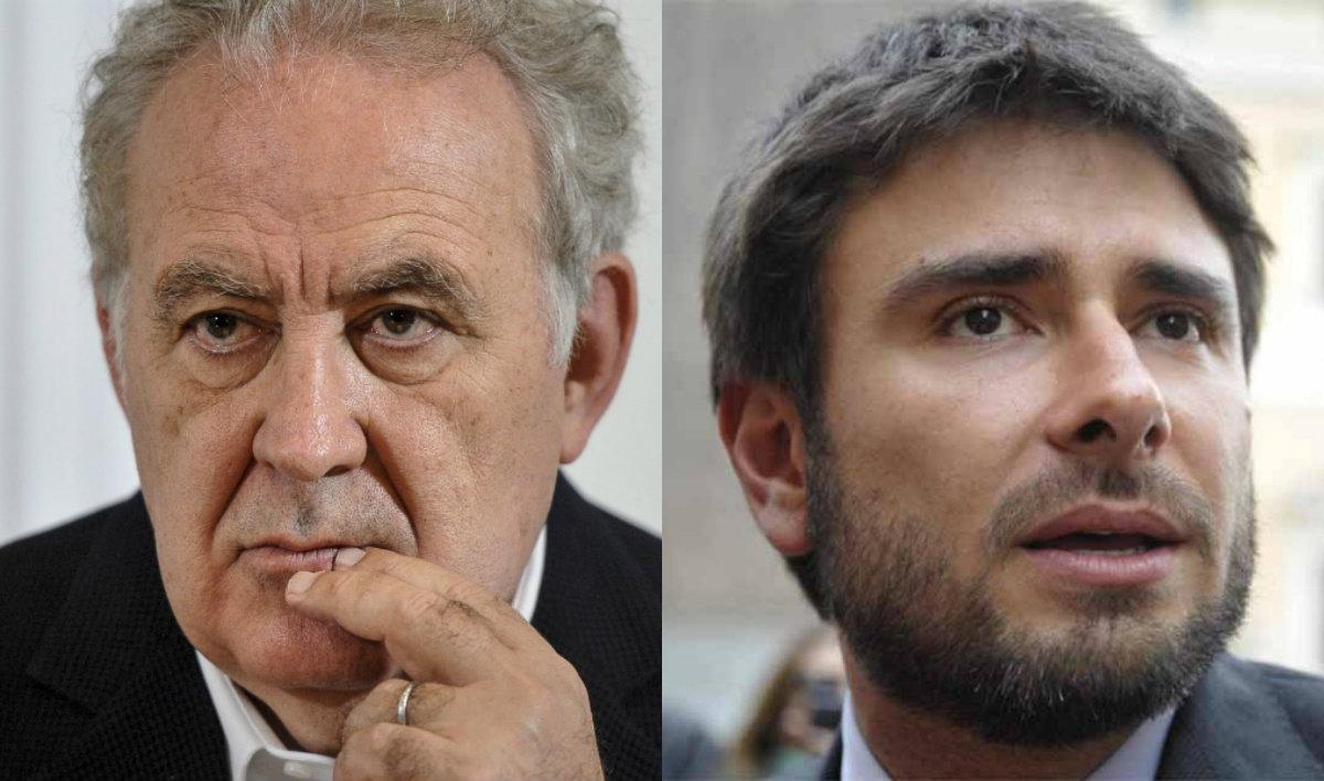 Santoro sferza Di Battista: 'Figlio di impiegato fascista'
