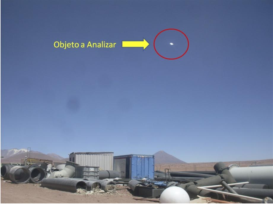 Cile, video mostra oggetto misterioso