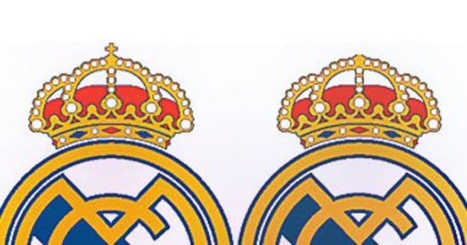 Logo Real Madrid senza croce per il mercato arabo