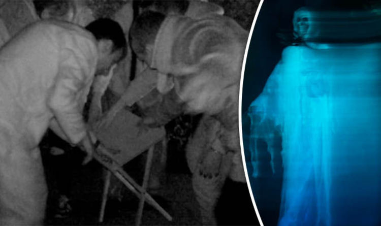 Fantasma immortalato in un'ex macelleria inglese