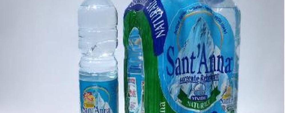Acqua Sant'Anna con odore strano: ritiro