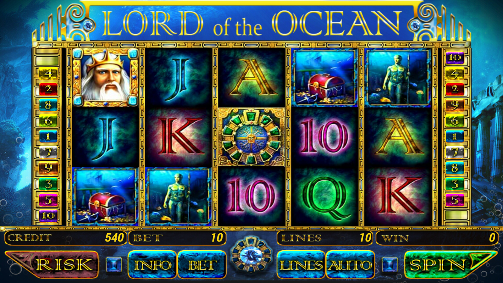 Slot machine: Lord of Ocean piace ai giocatori