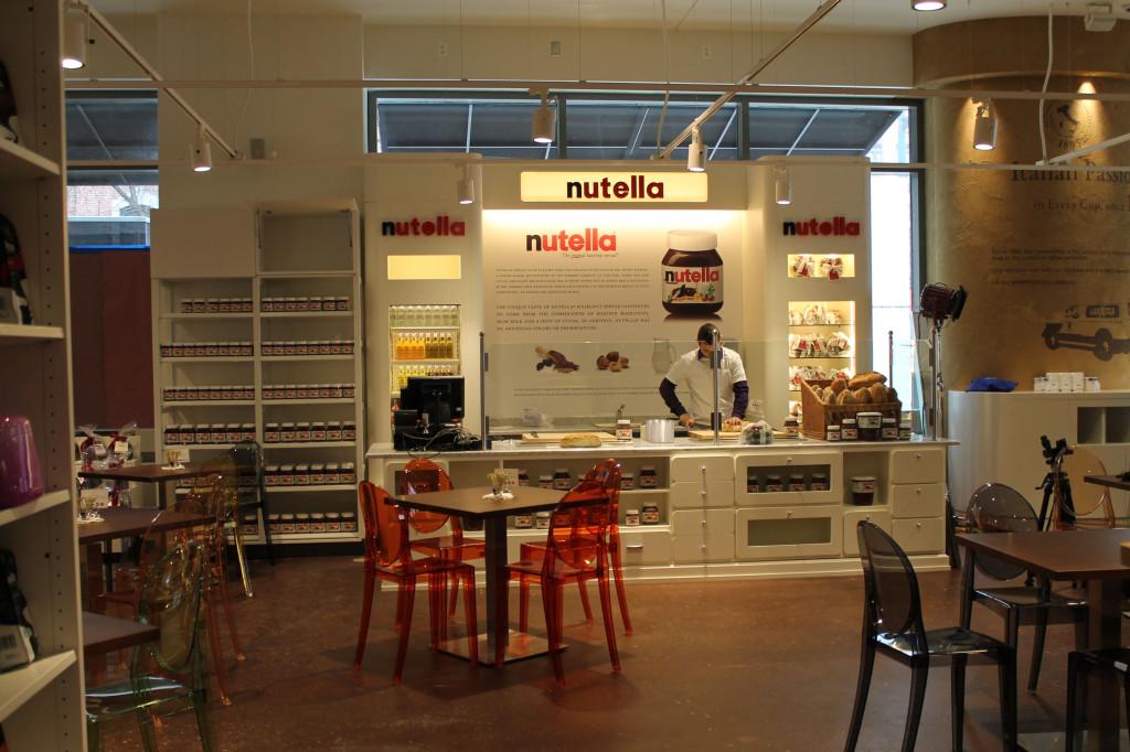 Nutella Cafè a Chicago: il primo al mondo