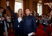 Silvio Berlusconi presenta Movimento animalista con la Brambilla