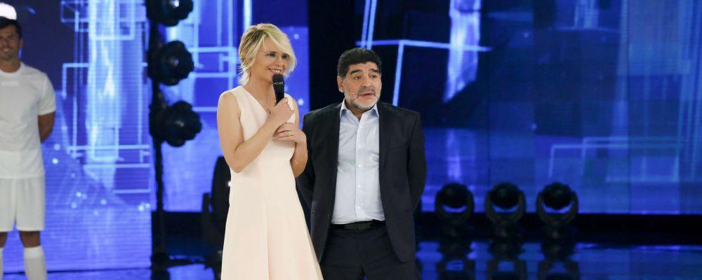 Maradona al Napoli: non è escluso, dichiarazione ad Amici