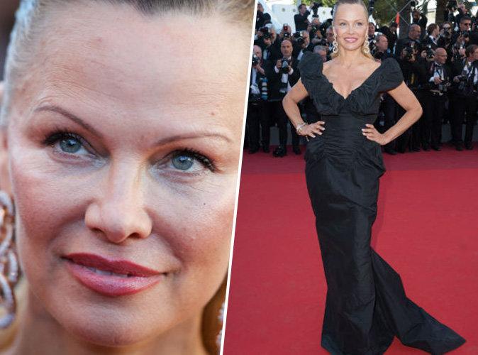 Pamela Anderson sul red carpet di Cannes 2017