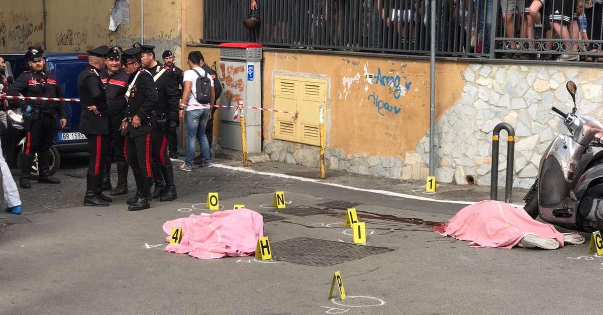Napoli, uccisi zio e nipote: membri clan Lo Russo