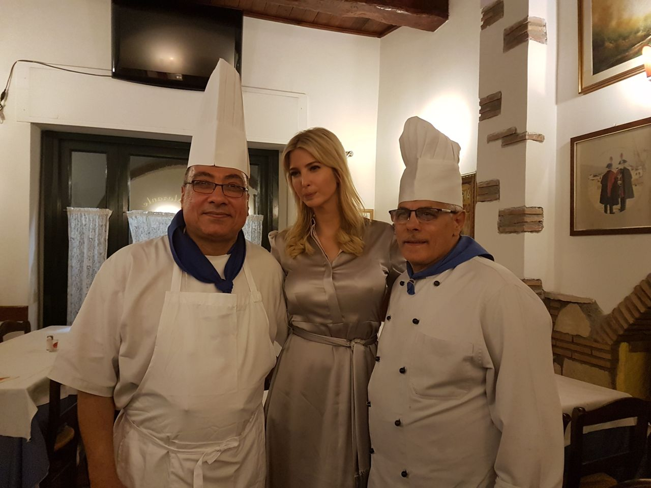 Ivanka Trump: cosa ha mangiato a Roma?