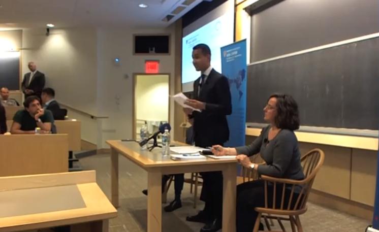 Luigi Di Maio ad Harvard: lo scontro con i giornalisti