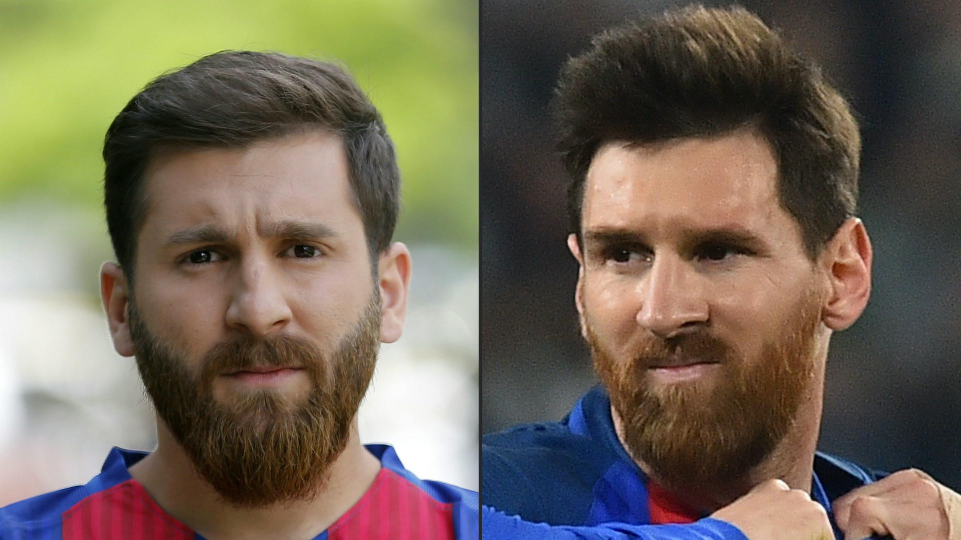 Sosia di Messi arrestato in Iran