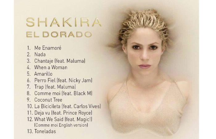 Shakira torna con El Dorado: nuovo album 2017