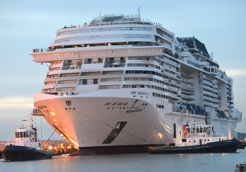 MSC Meraviglia: oggi il viaggio inaugurale