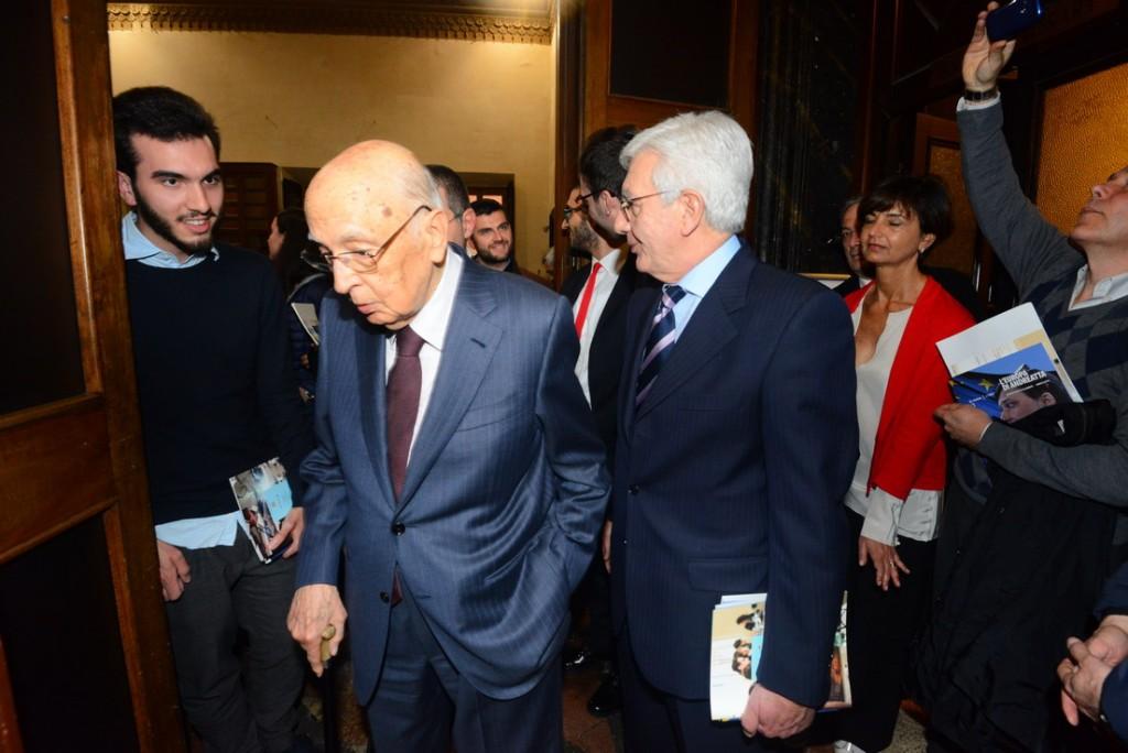 Giorgio Napolitano contrario al voto anticipato