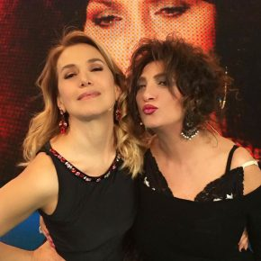 Barbara D'Urso in ferie con Marcella Bella