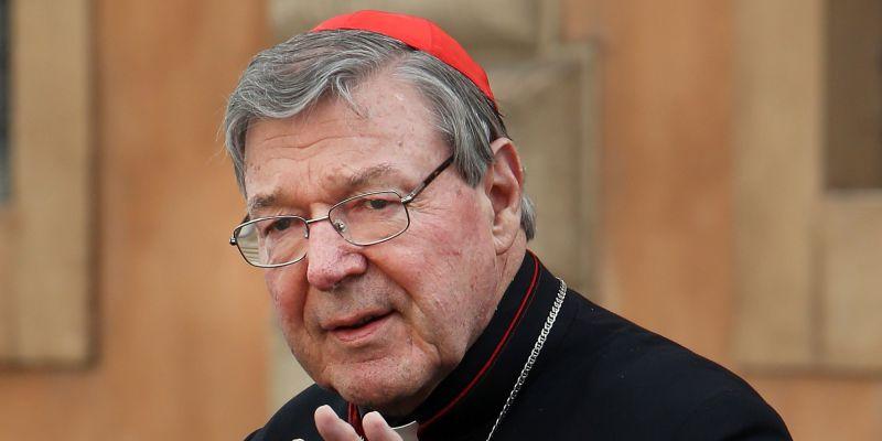Pedofilia, cardinale George Pell a giudizio