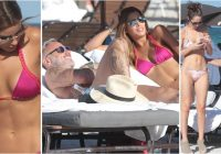 Gianluca Vacchi, flirt con Ariadna Gutierrez, ex Miss Universo