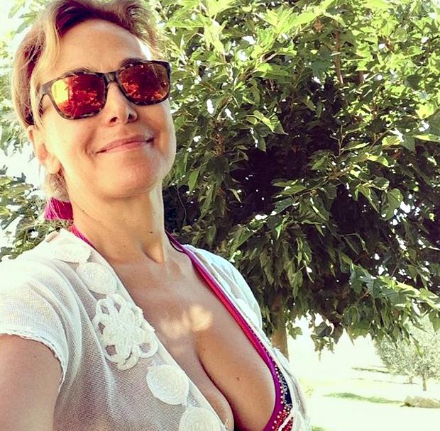 Barbara D'Urso, relax tra Ibiza e Capalbio