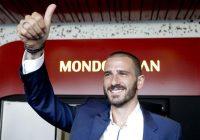Bonucci criticato da Nina Moric per l'addio alla Juve