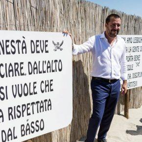 Salvini snobba Maroni e mira a fare il premier