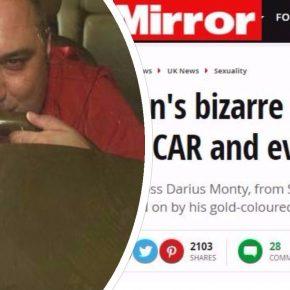 Fa l'amore con la sua auto: Darius Monty soffre di meccanofilia