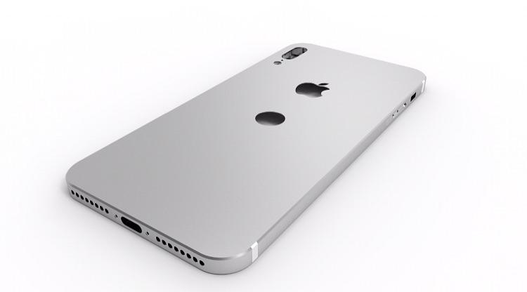 iPhone 8 con sistema di riconoscimento facciale