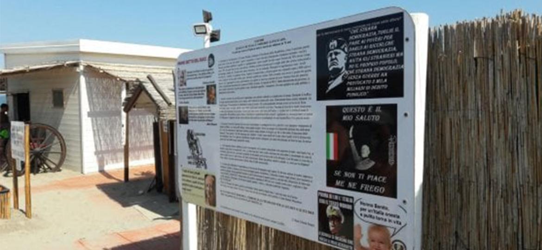 Punta Canna, stabilimento fascista suscita polemiche