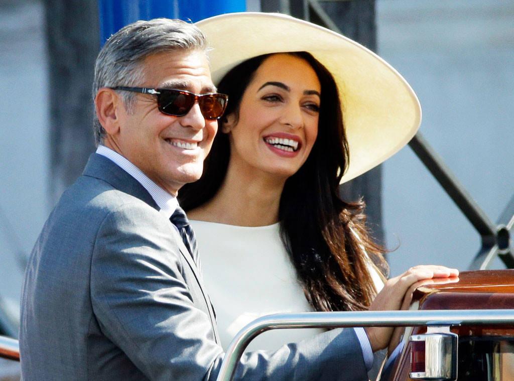 George Clooney querela Voici per foto dei gemellini in Italia