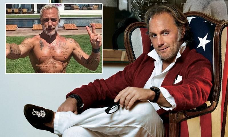 Gianluca Vacchi ringiovanito e tonico: le foto su Hola!