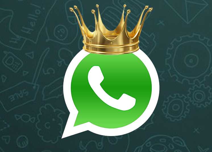 WhatsApp batte tutti: prima app di social messaging