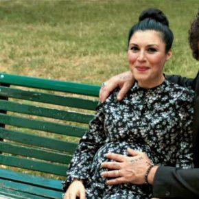 Giusy Ferreri col pancione nella clip di 'L'amore mi perseguita'