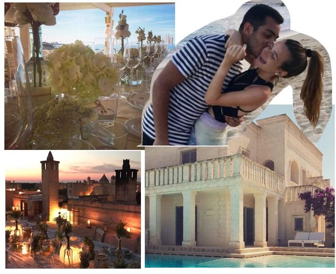 Nozze Sutton-Cohen in Puglia: invitati a Borgo Egnazia