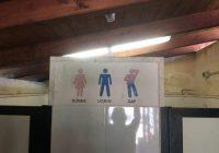 Lecce, cartello omofobo nel bagno del B&B
