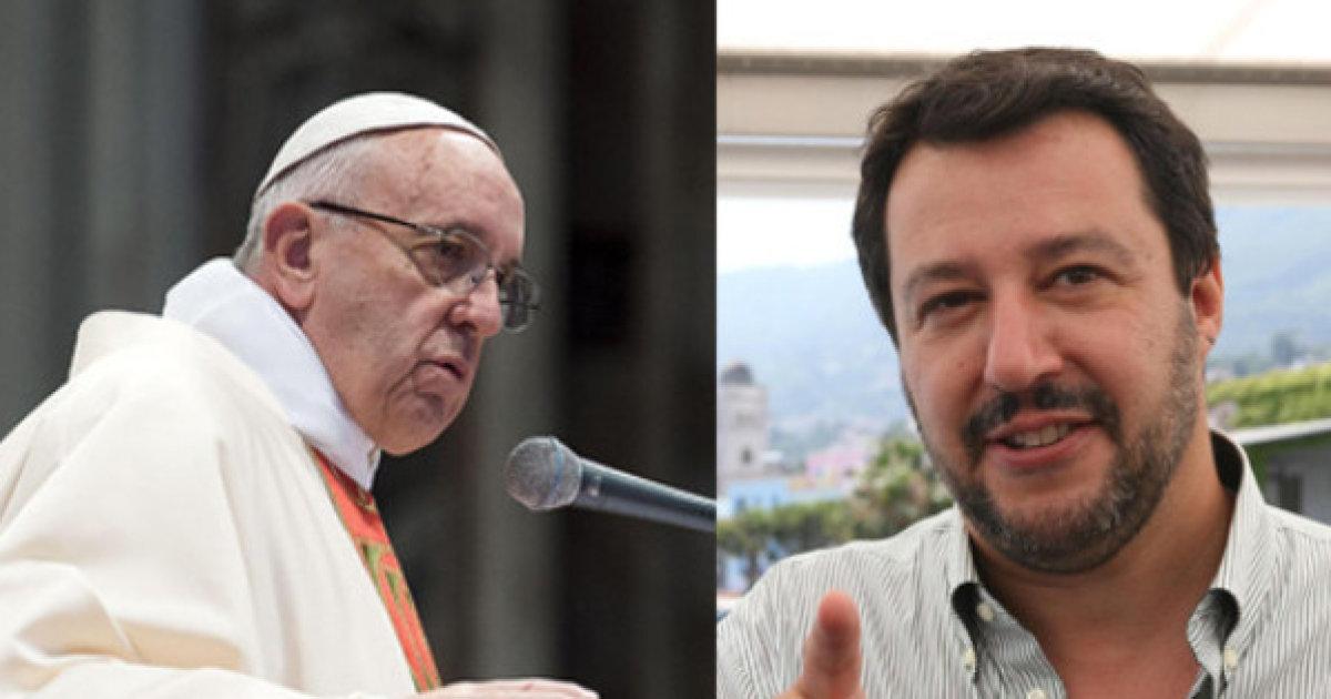 Ius soli, Papa Fransceso dice sì, Salvini no