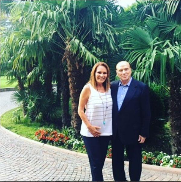 Il nuovo aspetto di Silvio Berlusconi