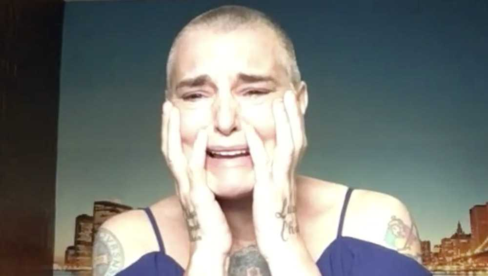 Sinead O'Connor triste e sola: video allarmante su Facebook