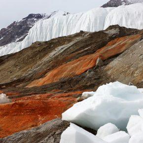 Antartide, svelato mistero delle cascate di sangue