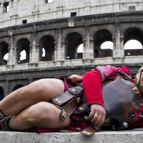 Centurioni Banditi al Colosseo, Consiglio di Stato con Raggi