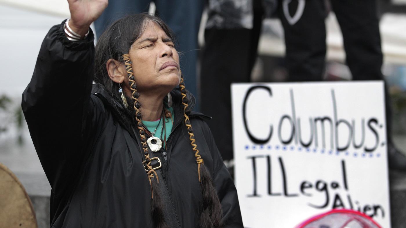 Columbus Day Addio a Los Angeles: Nativi Festeggiano