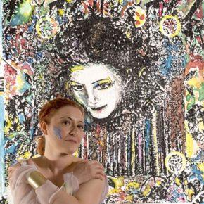 Rossella Regina in mostra a Bologna: opere del pittore Giudice