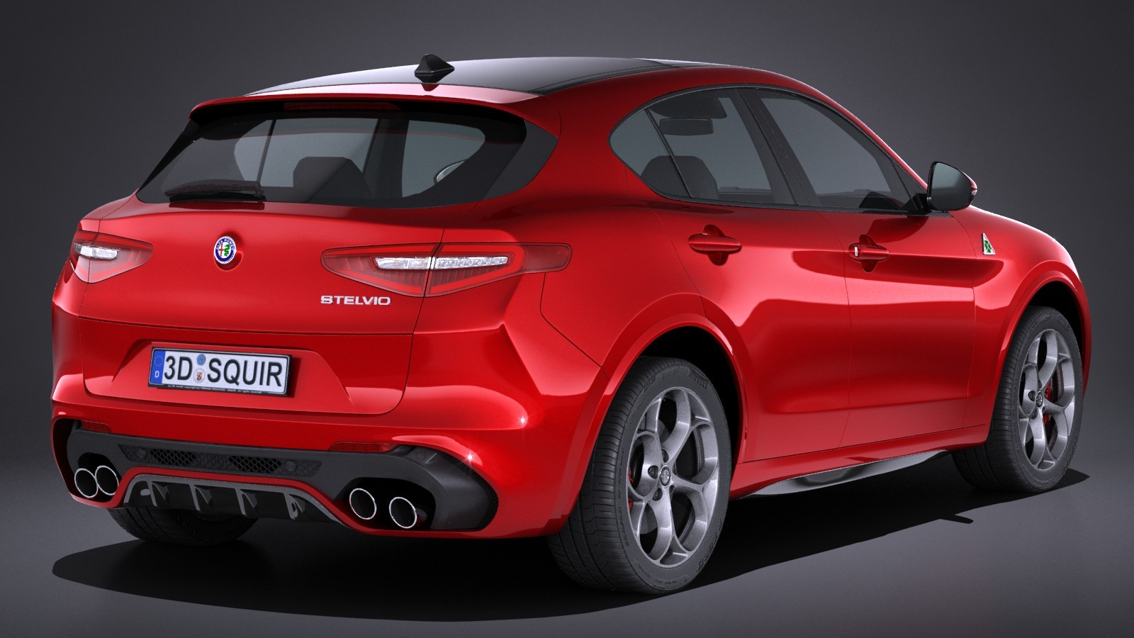 alfa romeo stelvio quadrifoglio batte porsche cayenne turbo s suv pi veloce zz7 curiosit. Black Bedroom Furniture Sets. Home Design Ideas