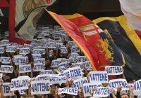 Genoa-Bologna, giornalista aggredito da tifoso rossoblu