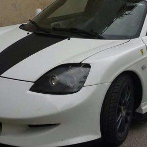 Toyota MR2 diventa Ferrari, 52enne denunciato a Scicli