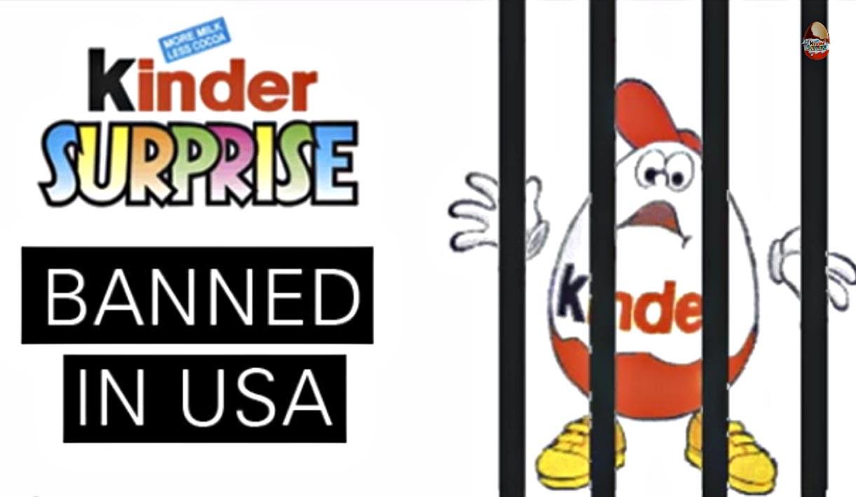 Usa, armi sì e ovetti Kinder no