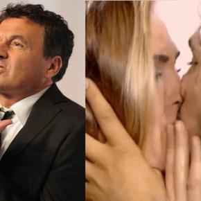 Le Iene, Ilary Blasi bacia ragazzo autistico