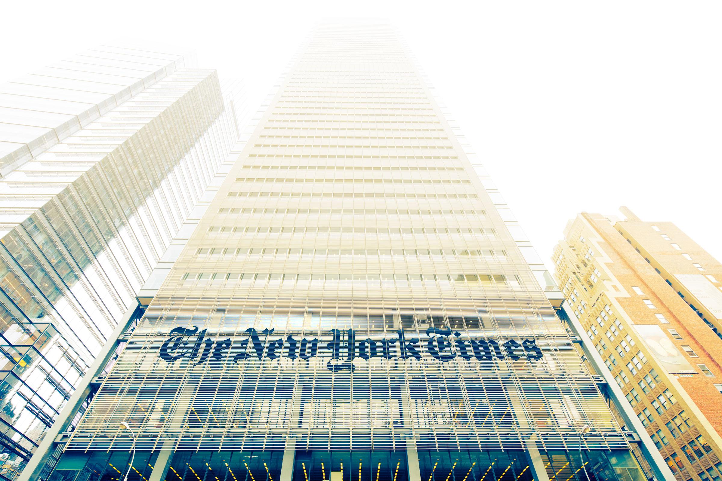 Annuncio da sogno del New York Times