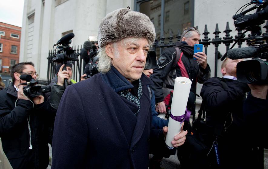 Bob Geldolf vs Aung San Suu Kyi