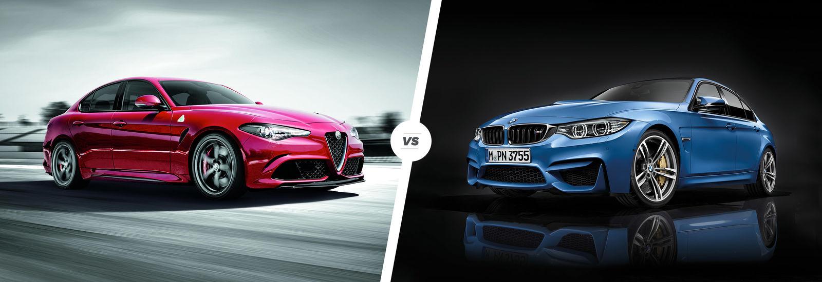 Alfa Romeo Giulia Quadrifoglio più veloce della BMW M3 CS al Nurburgring