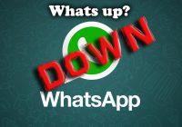 WhatsApp down questa mattina: utenti si sfogano su Twitter